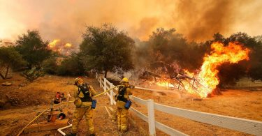 Firefighters use Augmented Reality in California